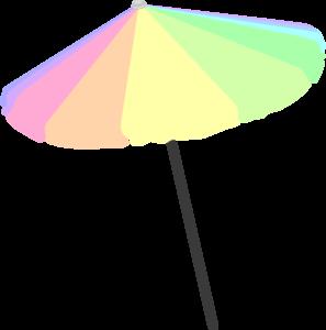 Beach Umbrella Clip Art At Clker Com Vector Clip Art