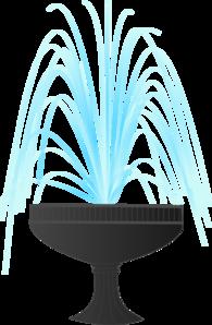 Clip Art Fountain Clipart water fountain clip art at clker com vector online art