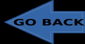 Go Back Clip Art at Clker.com - vector clip art online, royalty ...