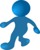 Walking Cartoon Man Clip Art