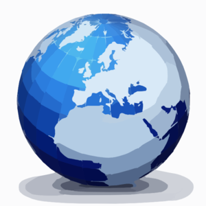 World Globe 2 Clip Art