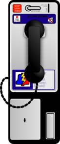 Pay Phone Clip Art