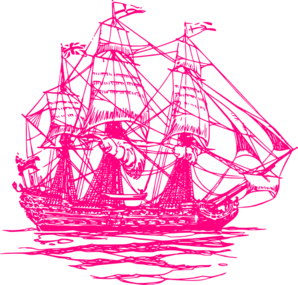 Raspberry Ship Clip Art