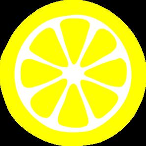lemon slice clip art at clker com vector clip art online royalty rh clker com slice of lemon clipart Lemon Wedge Clip Art