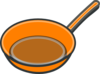 Copper Pan 2 Clip Art