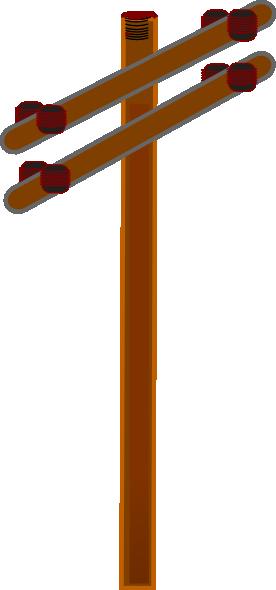 Distribution Pole Clip Art at Clker.com - vector clip art online ...