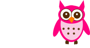 Pink And Brown Owl Clip Art