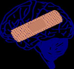 Brain Big Bandaid Clip Art at Clker.com - vector clip art online ...