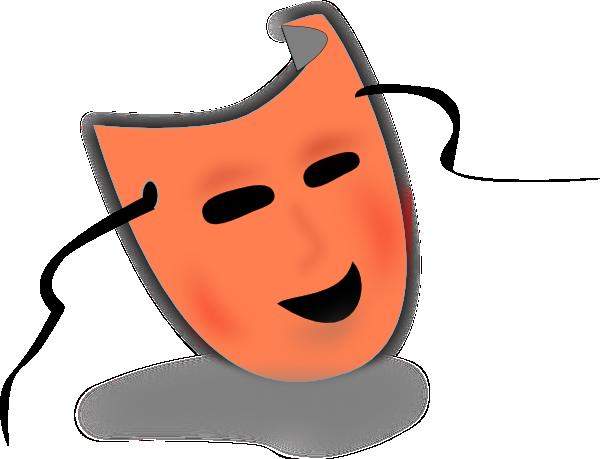 theatre mask clipart. Mask clip art
