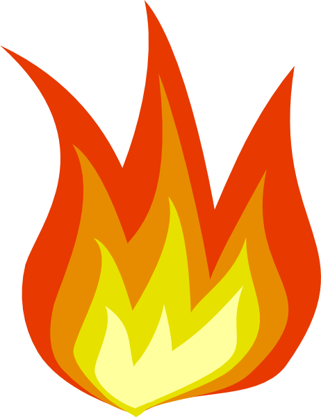 clipart flames of fire - photo #23