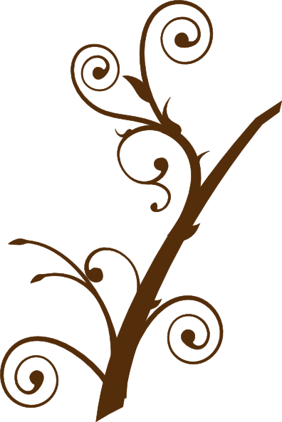 Brown Tree Branch Clip Art at Clker.com - vector clip art ...