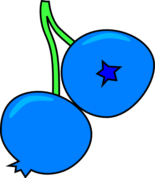 Blueberry Clip Art at Clker.com - vector clip art online, royalty free ...