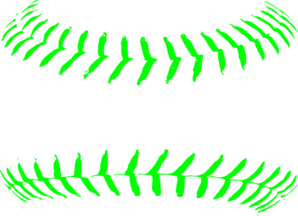 Softballstitches Clip Art