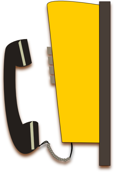 Phone Booth Stock Vectors Clipart and Illustrations
