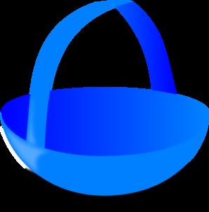 Blue Basket Clip Art at Clker.com - vector clip art online ...