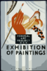 Federal Art Project - Exhibition Of Paintings Clip Art