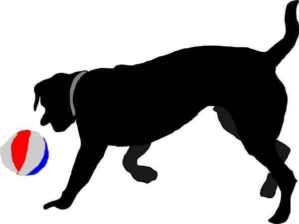 Dog ball clip art - photo#1