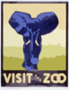 Visit The Zoo Clip Art