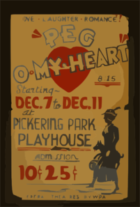 Peg O My Heart  Love, Laughter, Romance! Clip Art