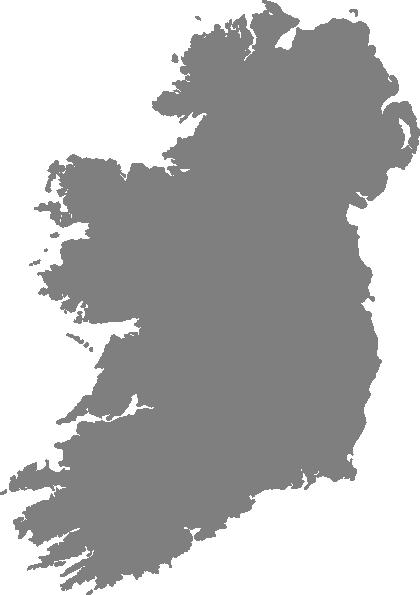 Outline Map Of Ireland.Grey Filled Map Of Ireland No Outline Clip Art At Clker Com