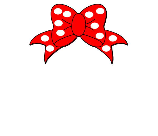 Minnie mouse white clip art vector clip art online royalty free