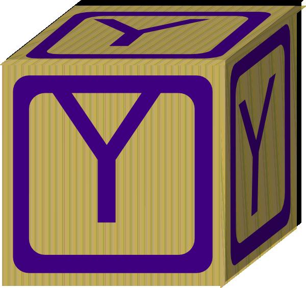 Letter Alphabet Block Y Clip Art at Clker.com - vector ...