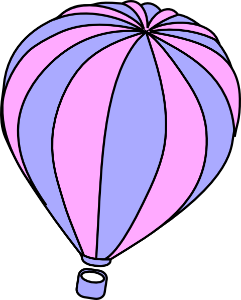 lavender and pink hot air balloon clip art at clker com vector rh clker com lavender clip art border free clipart lavender flowers
