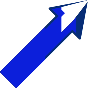 Arrow Up Right 1 Clip Art