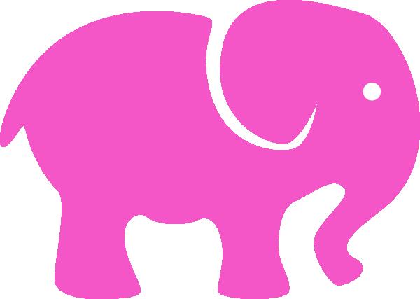 clip art pink elephant - photo #24