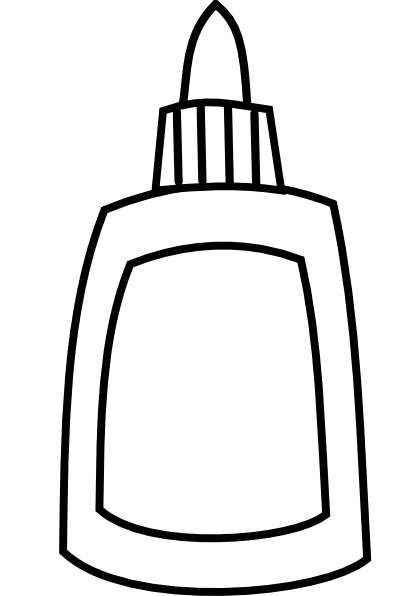glue bottle coloring pages - photo#8