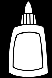 glue bottle coloring pages | Blank Glue Bottle Clip Art at Clker.com - vector clip art ...