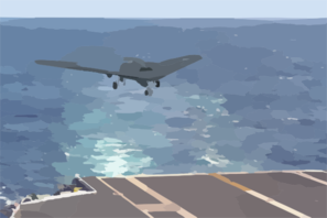 Artist Concept Of A Naval Unmanned Combat Air Vehicle (ucav-n) Clip Art