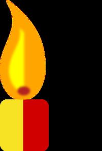 Candle Image Lit Clip Art At Clker Com Vector Clip Art