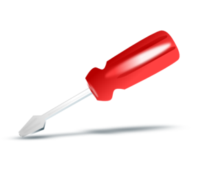 Screw Driver Icon Clip Art