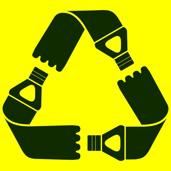 Recycle Plastic Bottles Symbol Clip Art At Clker Vector Clip