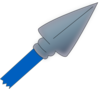 Blue Spear Clip Art
