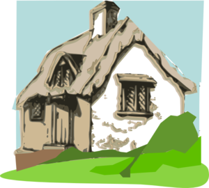 How To Draw An Old Fashioned House