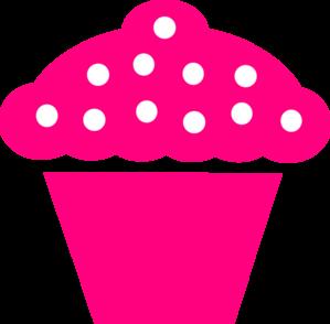 polka dot cupcake black clip art at clker com vector clip art rh clker com