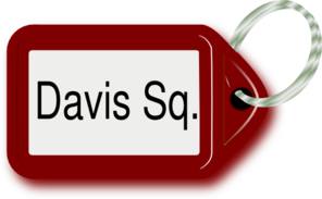Davis Square Key Ring Clip Art