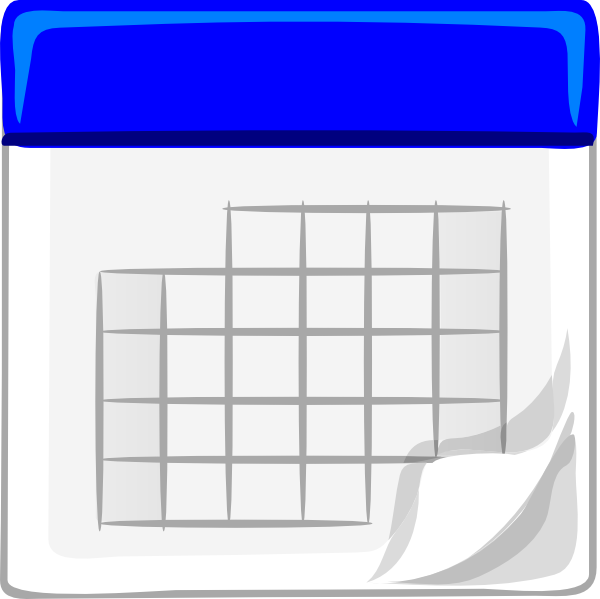 free clipart for teachers calendar - photo #49