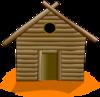 Straw House Clip Art at Clker.com - vector clip art online ...