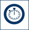 Blue Stop Watch Clip Art
