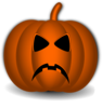 Sad Pumpkin Clip Art