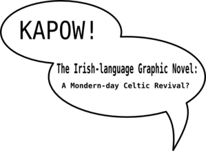 Title Page Irish-lang Graphic Novel Clip Art