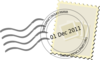 01 Dec 11 Stamp Clip Art