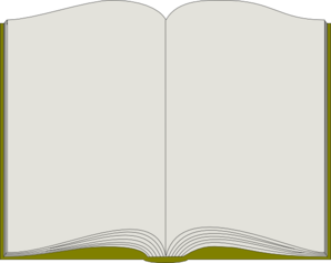 Aufgeschlagenes buch clipart  Book Clip Art at Clker.com - vector clip art online, royalty free ...
