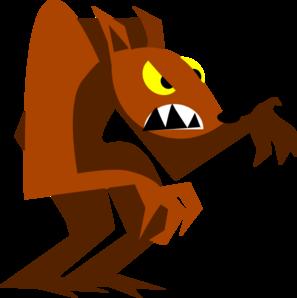 werewolf clip art at clker com vector clip art online royalty rh clker com werewolf clipart free halloween werewolf clipart free