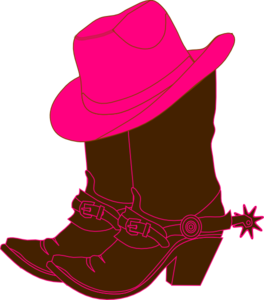 Cowgirl Boots Clip Art