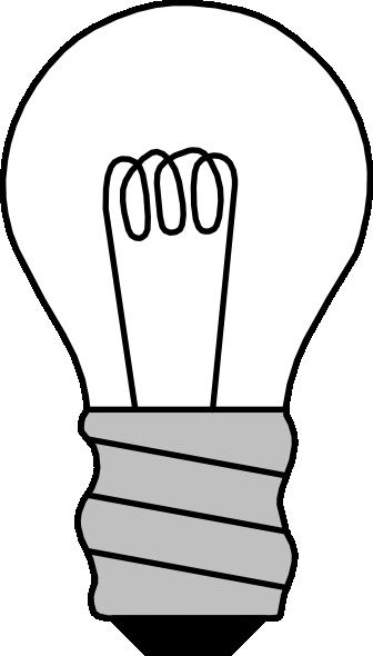 Light Bulb Off Clip Art at Clker.com - vector clip art online, royalty ...