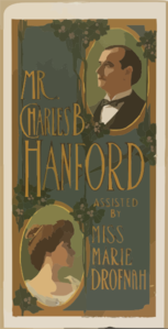 Mr. Charles B. Hanford Assisted By Miss Marie Drofnah. Clip Art